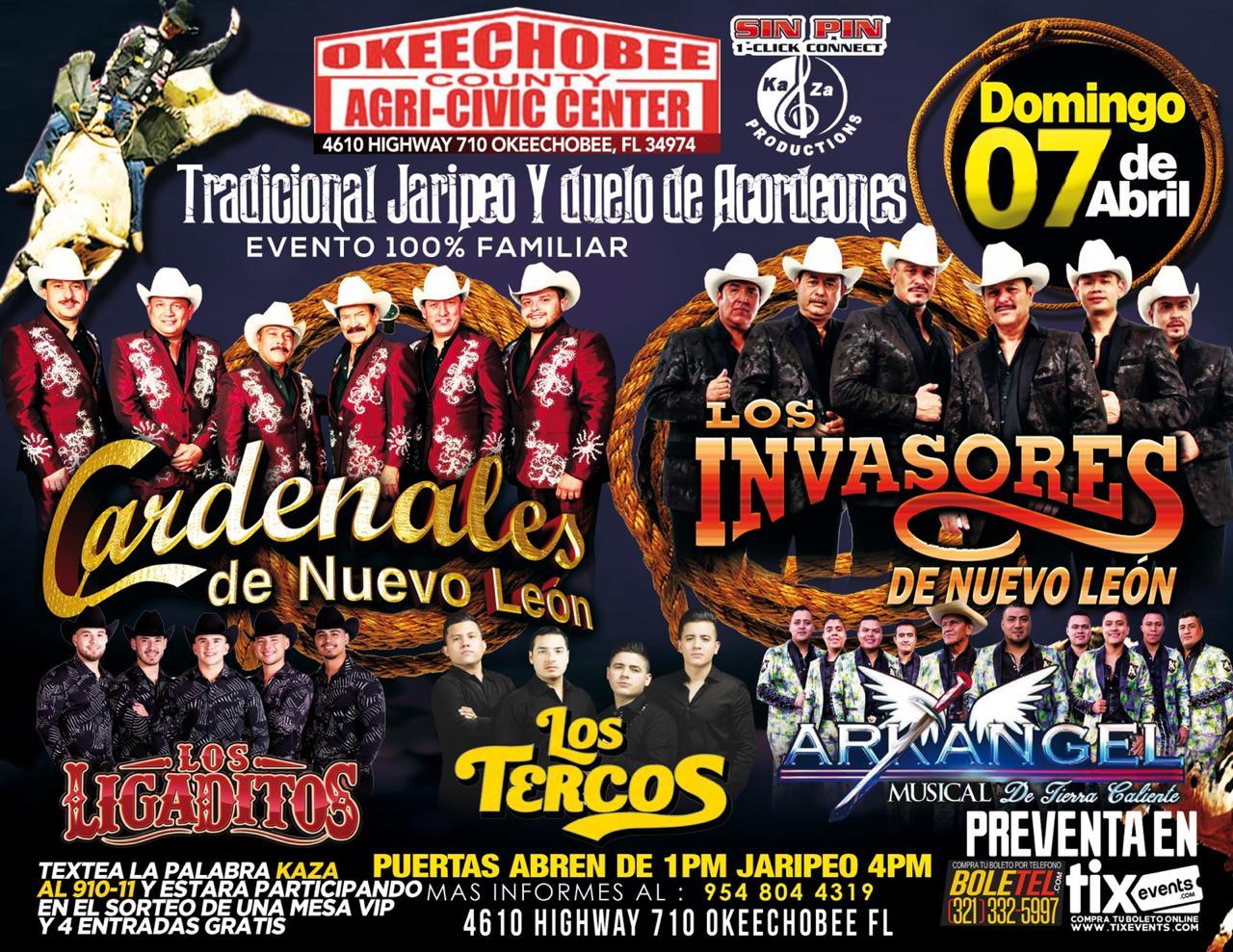 Agric Civic Center Okeechobee – Cardenales de Nuevo León