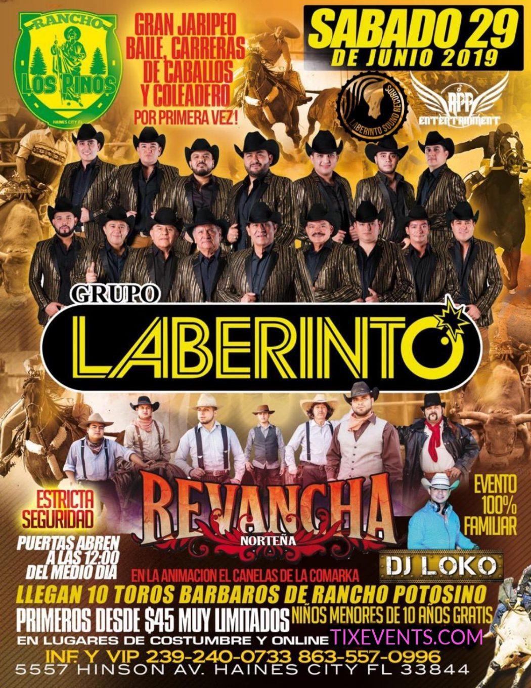 Rancho Los Pinos – Grupo Laberinto – Revancha Norteña