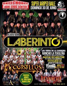 Okeechobee Agri Civic Center – Grupo Laberinto – Cuisillos